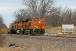 BNSF 6629 Heads up the GALMAD.