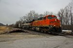 BNSF 5791 Gives a wave as they head SB.