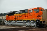 U can almost smell the paint on BNSF 9043!!