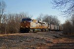 CREX 1314 Heads up a NB Mixed freight train.