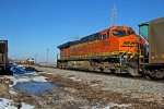 BNSF 5892 Dpu on a SB coal train.