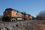 BNSF 5477 Leads a nice consist NB,