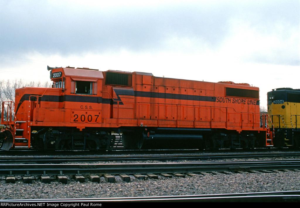 CSS 2007, EMD GP38-2, at the CNW Proviso Yard