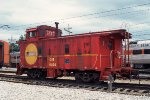 CSS 10006, Caboose, at the CSS&SB Shops