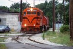 CSS 2008, EMD GP38-2, the start of street running