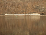 Even Metro North  Commuter Railroad puts in an appearance across the Hudson