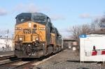 Southbound ethanol train K634-15 crosses Bergen Turnpike at CP-5 enroute to Sewarren, NJ