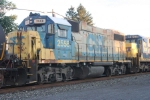Unusual CSX Non Dynamic GP-38-2 seen on Q417-26