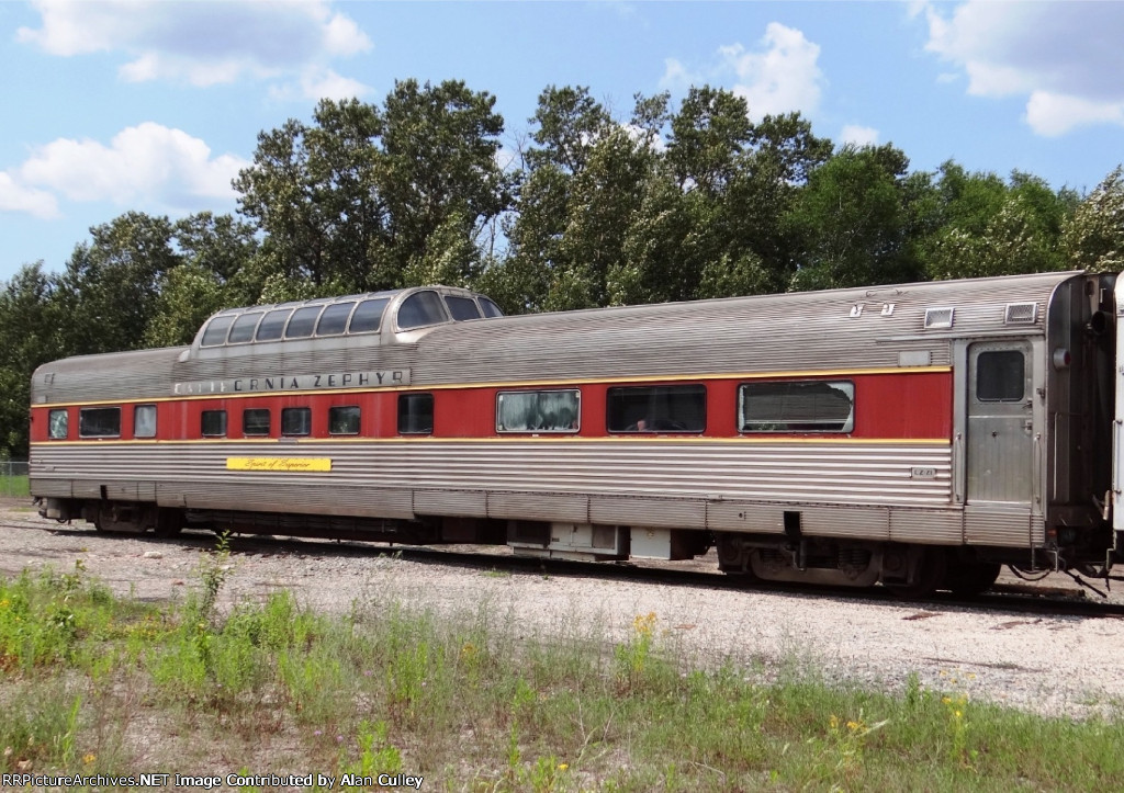 Former Western Pacific-Algoma Central Dome Car