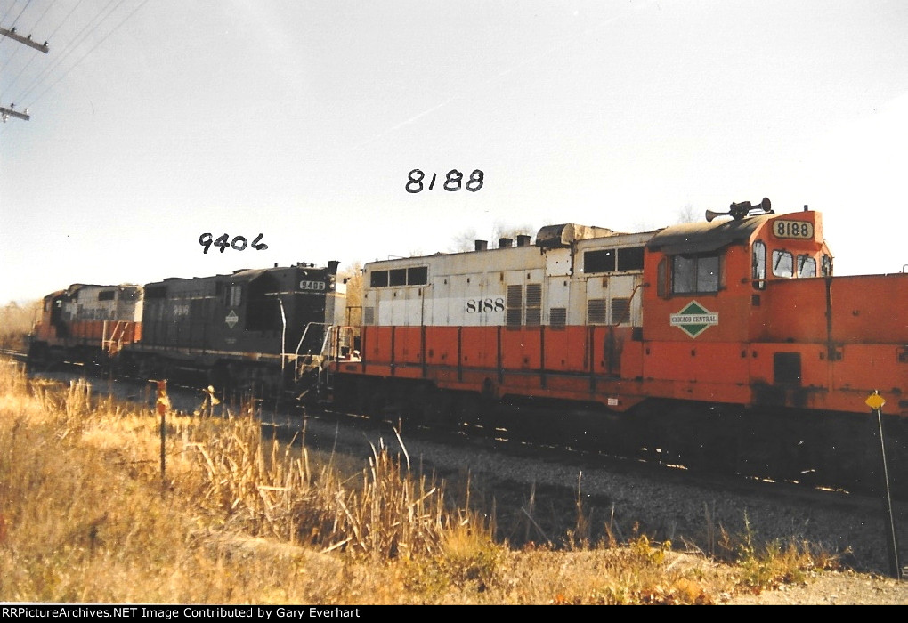 CC 8188 - Chicago Central & Pacific (ex-IC)