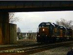 Csx freight  passing through Kenova, wv