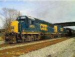 Csx freight rolling through historic Kenova, wv