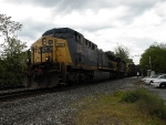 Autorack coming off the Old Main at St Denis.