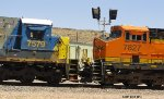 CSX 7579 and BNSF 7827 compare noses