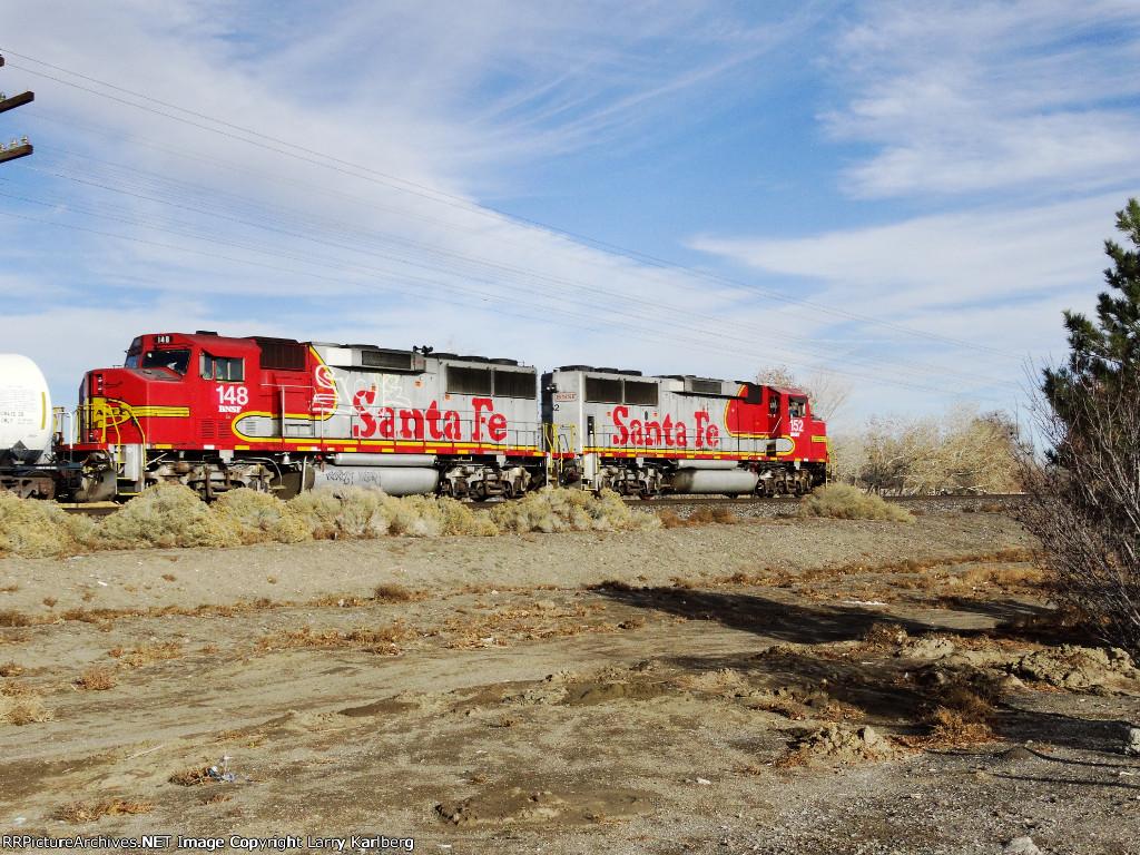 BNSF 152 & 148