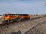 BNSF 535 & 100