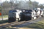 NS 222 overtakes 154