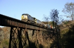 CSX Local F790 crossing the high bridge