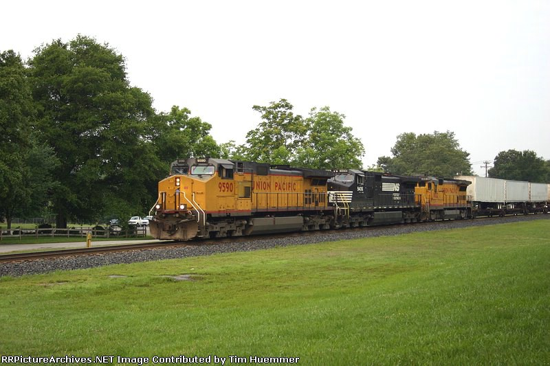 NS Train 214 with UP and NS Power