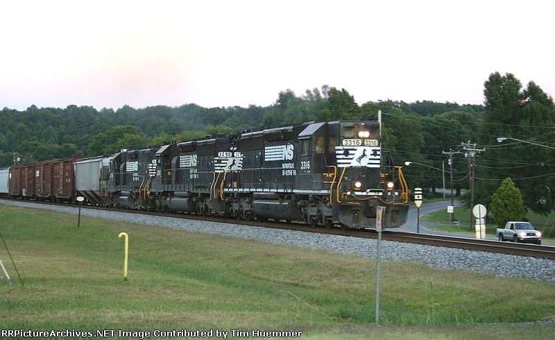 NS 119 with old school power