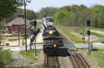 NS Train 212 passes Magnolia holdout