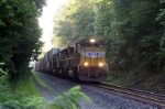 NS train 221 with lots of stacks from Charlotte
