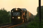NS Train 237 at dawn
