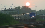 Amtrak 19 at Sunrise