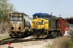 CSX yard job Y150 works the Trans-Flo place