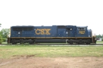CSX 4800 parked at National Starch