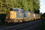 Dead coal train