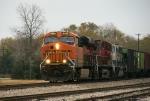 BNSF 6628 & CP 9505