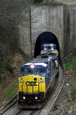 Q182 emerges from the downtown tunnel