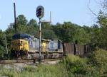 Northbound coal & dowel arm signal