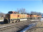 Westbound Mixed Freight