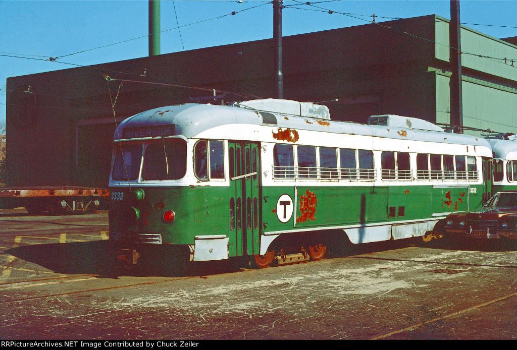 MBTA PCC 3332