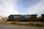 A Coal train heads north