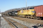 NS 8013 with 1086 and UP 5379 on CSX K655-15