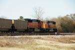 BNSF 8879 (DPU), 9855 (DPU)