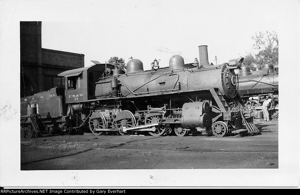FSW 4-6-0 #14 - Fort Smith & Western Ry