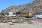 UP Z-Train on Cajon Pass