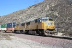 SD70Ms on Cajon Pass