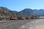 BNSF Z-Train on Cajon Pass