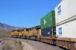 UP Stack Train on Cajon Pass