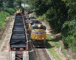 Q180 meets tie train