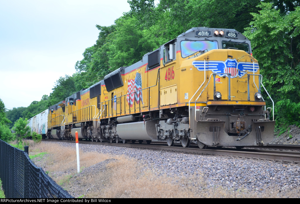 Union Pacific westbound MASKC