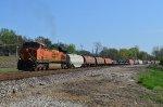 BNSF unit steel coil train U-STLPIT