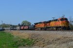 DPU's on westbound BNSF unit steel coil train U-STLPIT