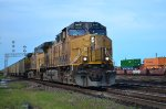 Union Pacific northbound coal empties