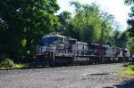 Norfolk Southern westbound Lehigh Line automotive train 11J